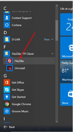 How to FTP or Upload web contents using FileZilla and Cpanel